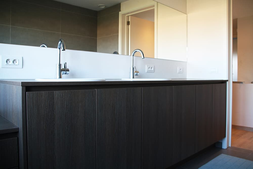 Badkamer Splendide Maatwerk Interieur Schrijnwerk